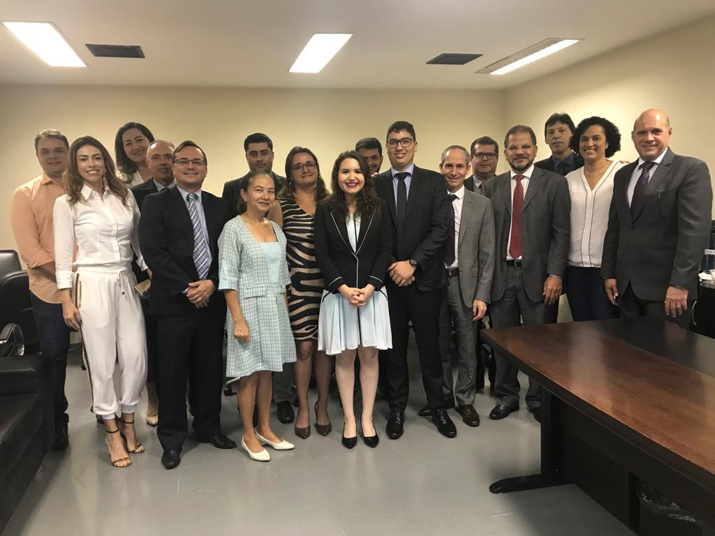 17/10 - Posse de Raphael Barbosa dos Santos Teixeira aprovado no III Concurso da PGE/TO